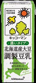 キッコーマン 北海道産大豆 無調製豆乳