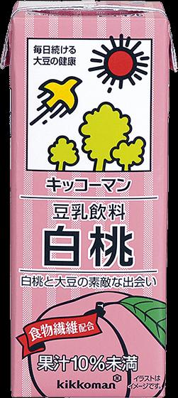 豆乳飲料 白桃
