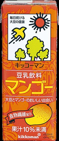 豆乳飲料 マンゴー