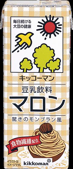 豆乳飲料 マロン