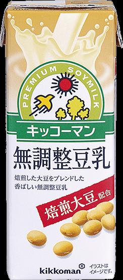 焙煎大豆 無調整豆乳