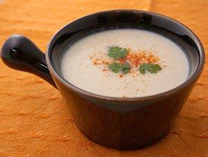カリフラワーの豆乳ポタージュ