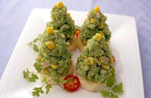 豆乳仕立てのグリーンポテトサラダ