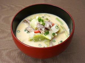 豆乳ごまスープ