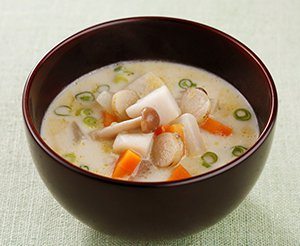 根菜の豆乳汁