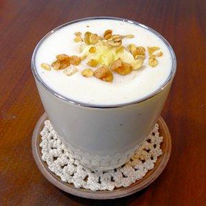 バナナヨーグルト豆乳