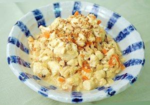 豆乳炒り豆腐