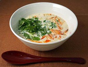 台湾風豆乳スープ(シェントウジャン)