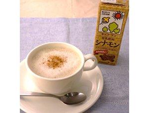 豆乳飲料シナモンのシナモンカフェ・ラテ