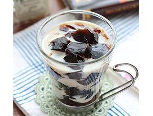 豆乳入りコーヒーゼリー