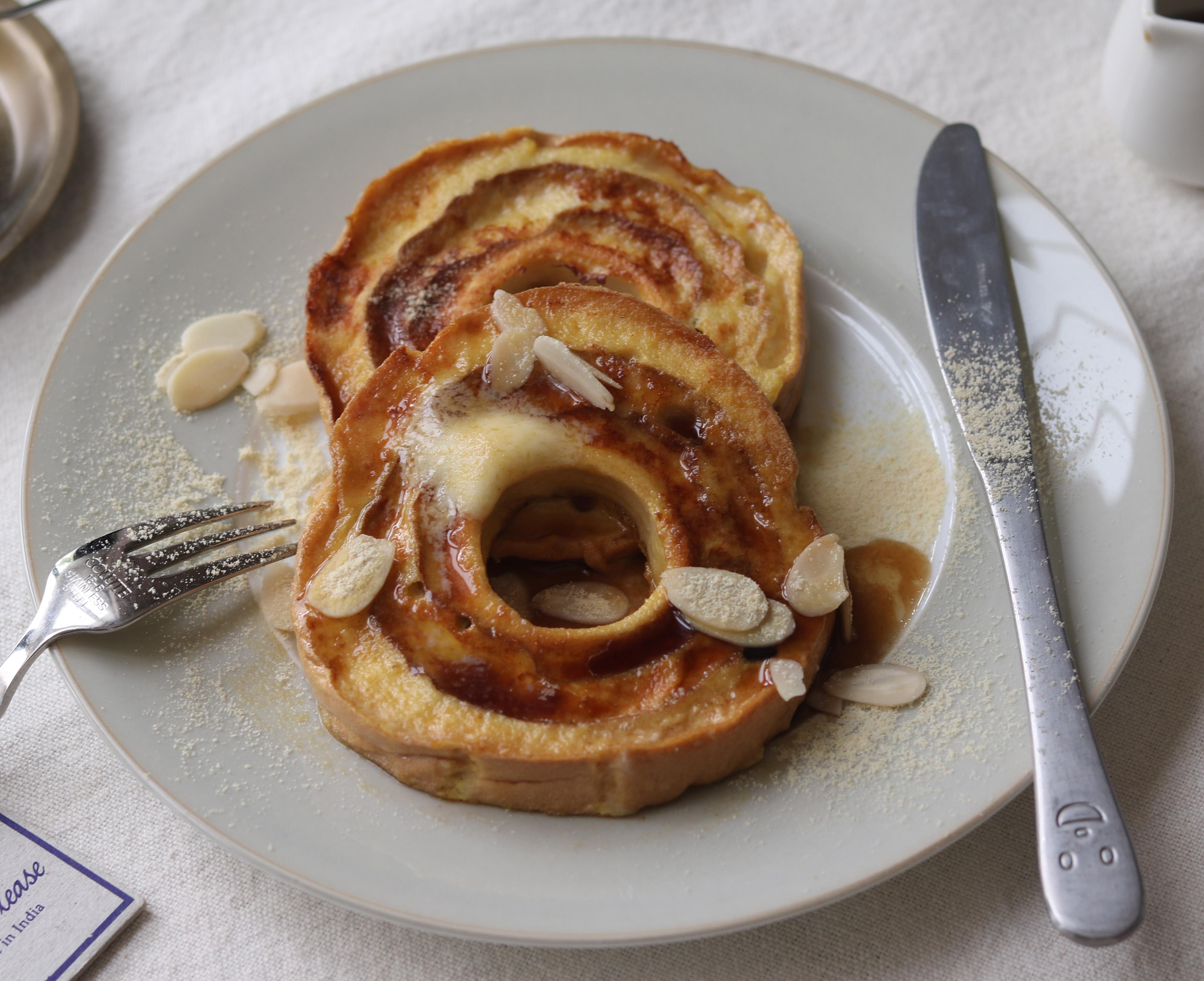豆乳麩レンチトースト