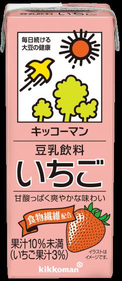 豆乳飲料 いちご