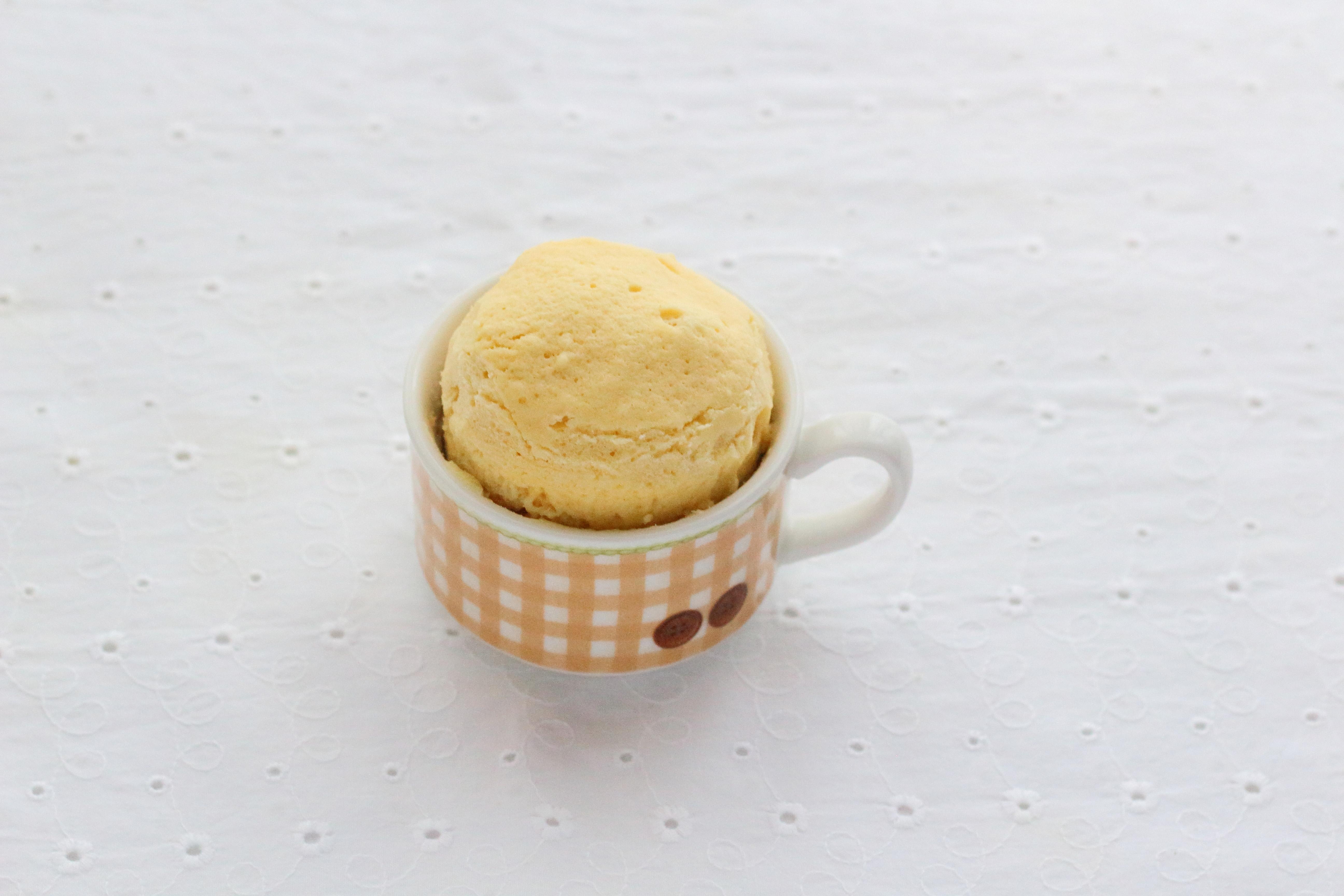 豆乳マグカップケーキ