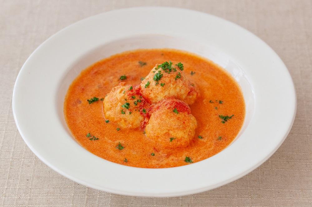 肉団子の豆乳トマト煮