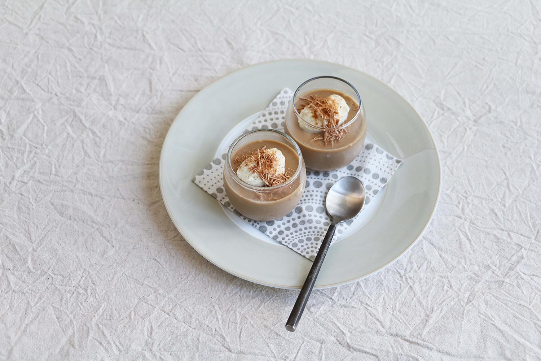 豆乳チョコババロア